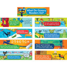 Pete The Cat Classroom Decor Classroom Decor Mini Bulletin Board Set Early Learning
