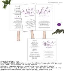 Program Fan Template 23 Best Wedding Invitation Templates Images On Pinterest Wedding