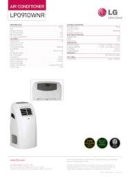 lg air conditioner manual lp0910wnr air conditioner databases
