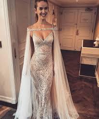 wedding evening dresses best 25 wedding dress cape ideas on dress