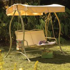 Garden Treasures Patio Furniture Replacement Parts Furniture Wondrous Brown Canopy With Amusing Swing Chairs Around