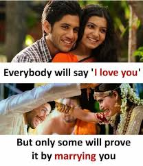 L Love You Meme - everybody will say l love you but only some will prove it by