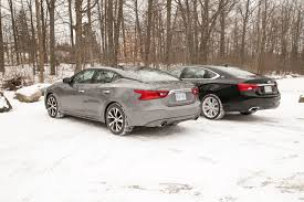 nissan maxima vs porsche nissan maxima vs chevrolet impala 18 autos ca