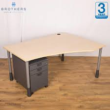 Office Furniture Adjustable Height Desk by Used Second Hand Office Desks Brothers Office Furniture