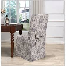 Dining Room Chair Slip Cover Kitchen Dining Chair Covers You Ll Wayfair