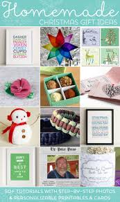 Diy Crafts For Christmas Gifts - easy homemade christmas gift ideas make inexpensive presents and
