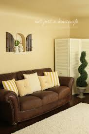 Living Room Paint Colors With Brown Couch Painting Fabric For Pillows Hmmm Diy Pinterest Pillows