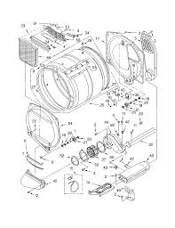 Dryer Leaves Marks On Clothes Kenmore Electric Dryer Parts Model 11064962300 Sears Partsdirect