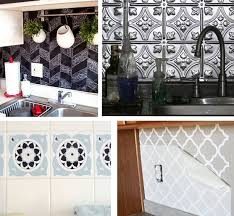 temporary kitchen backsplash kitchen amusing temporary kitchen backsplash vinyl wallpaper