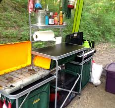 Foodgasm The Blog The Kitchen Sink Gourmet Camping Part - Camping kitchen with sink