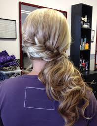 Simple But Elegant Hairstyles For Long Hair by Simple But Elegant Twist And Pull To The Side With Curls For Prom