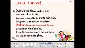 religious easter songs for children jesus is alive easter assembly song from sing easter by out of the