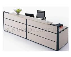 Small White Reception Desk China Modern Furniture Salon Small White Reception Desk Sz