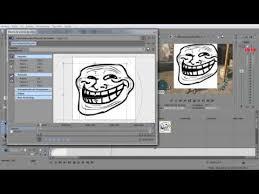como poner imagenes que se mueven en un video como poner en un vídeo caras troll que se mueven sony vegas pro 12