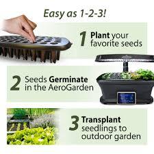 miracle gro aerogarden seed starting system bounty walmart com
