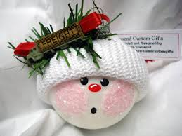Semi Ornaments Semi Truck Driver Ornament Snowball Tree Bulb Painted