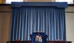 Church Curtains Pipe And Drape For Churches Expo