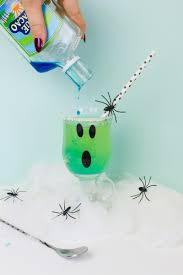 green cocktail spooky halloween cocktail recipe bespoke bride wedding blog