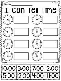 telling time bingo game to the hour and half hour telling time