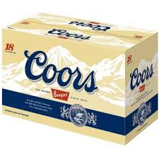 coors light 18 pack coors banquet beer 18 pack 12 fl oz walmart com