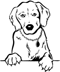COLORIAGES Animaux  Chiens  coloriage animaux