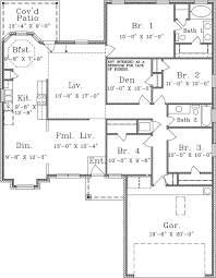 old florida house plans barnes homebuilders