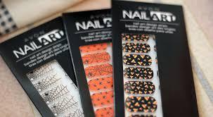 halloween avon nail art design strips stealingbeauty