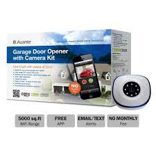 garage door lifter asante garage door opener with camera kit live streaming 99