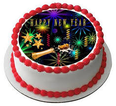 New Year Cupcake Decoration by New Year Edible Cake Topper U2013 Edible Prints On Cake Epoc
