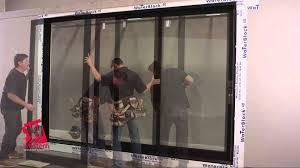 Patio Sliding Door Installation Backyards Installing Sliding Glass Dog Door Doors Interior On