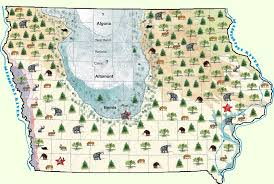 state of iowa map iowa s earliest residents the office of the state archaeologist