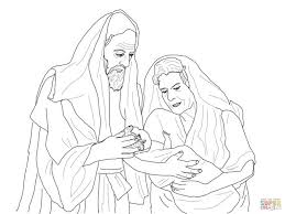abraham printables and isaac coloring page the sarah