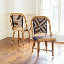 Hadley Bistro Chair Bistro L U0027afrique 32 U201dh Black And White Pattern Bistro Chairs A