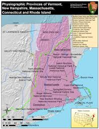 Vermont State Parks Map Photo Gallery U S National Park Service