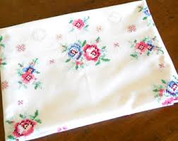 Shabby Chic Placemats by Shabby Chic Cross Etsy