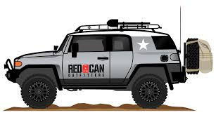 icon fj40 the red can fj cruiser red can outfitters