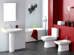 bathroom wonderful modern bathroom black red and white tiles