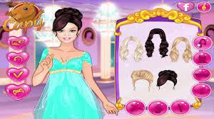 barbie princess games barbie winter masquerade and nail studio
