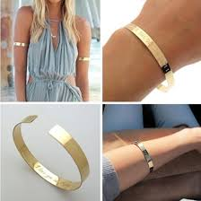personalized cuff bracelet jewels gold bracelet gold cuff fashion jewelry fashion