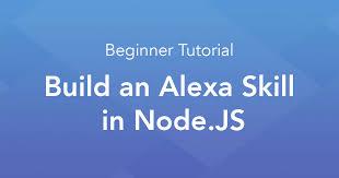 node js quick tutorial tutorial build an alexa skill in node js with jovo