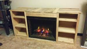 How To Build Fireplace Mantel Shelf - diy pallet fireplace