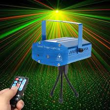 small led lights with remote mini r g auto voice control led laser stage light projector with