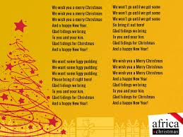 merry to you and happy new year africa