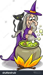 halloween funny cartoon pictures cartoon illustration funny fantasy halloween witch stock