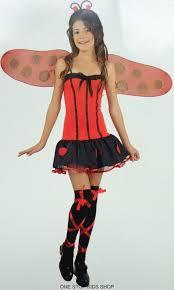 Halloween Bug Costumes Ladybug Girls 8 10 12 Dress Halloween Costume Lady Bug Ebay