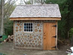 How To Build A Small Shed Out Of Wood by Cordwood Construction U2022 Nifty Homestead
