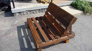 Patio Furniture Pallets by Pallet Chair Youtube