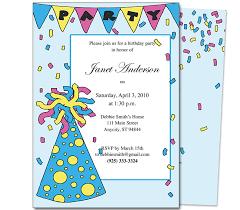 birthday invitation card template for kids festival tech com