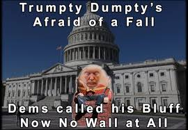 Shutdown Meme - david moskow on twitter no wall at all trumptydumpty meme