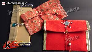 how to diy shagun envelope for gifting in wedding trousseau and